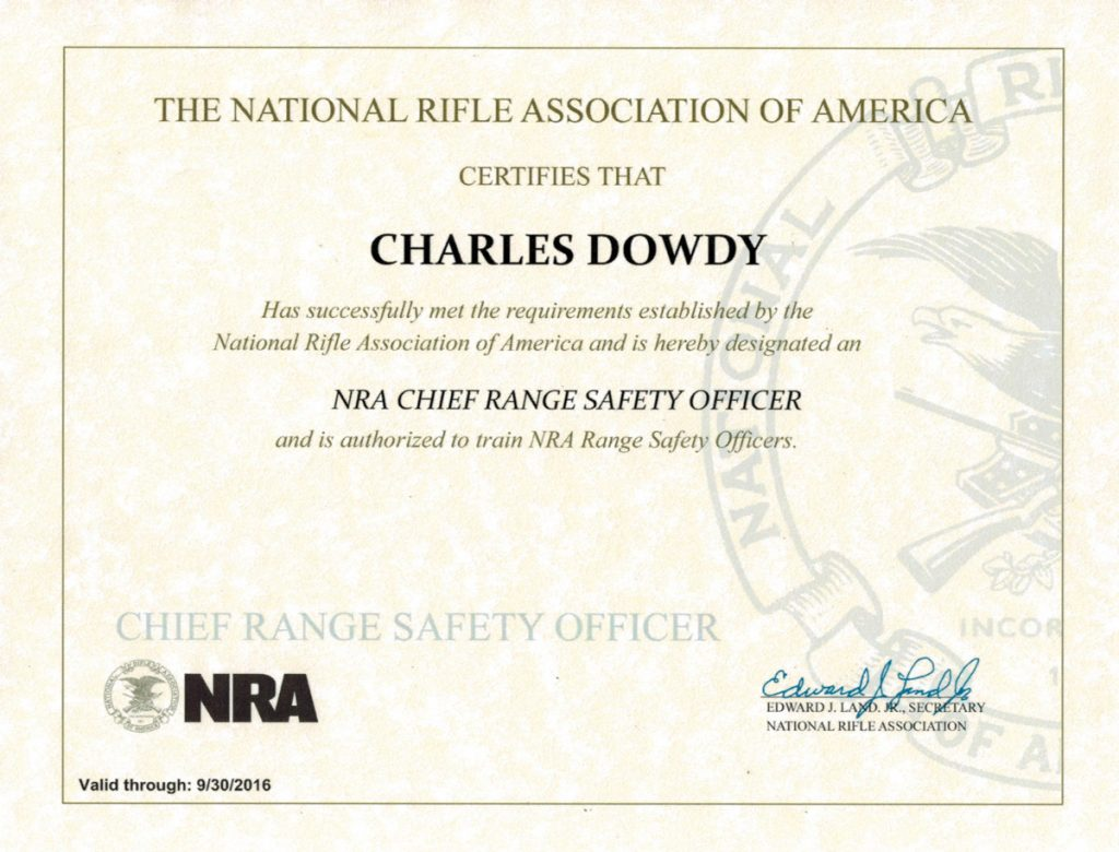 Houston spring ltc courses firearms training classes about tom nra crso certificate 1 xflitez Images